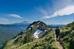 Goat Ridge, Goat Rocks Wilderness Area, Gifford Pinchot National Forest, Washington, USA.