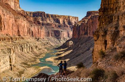 Marble Canyon view from Nankoweap Granaries trail, Colorado River Mile 53, Grand Canyon NP, Arizona, USA.