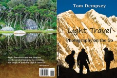 Light Travel book cover by Tom Dempsey