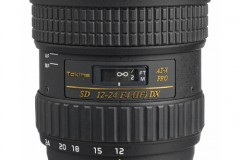 Tokina 12-24mm wide-angle lens for APS-C camera