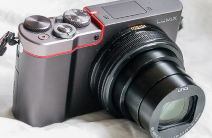 Panasonic Lumix ZS100 camera