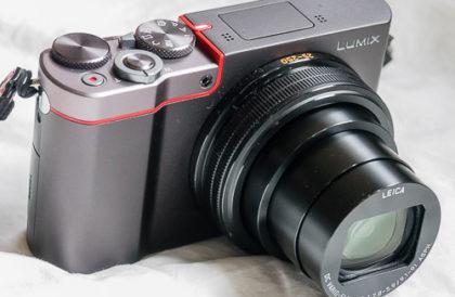 Panasonic Lumix ZS100 camera